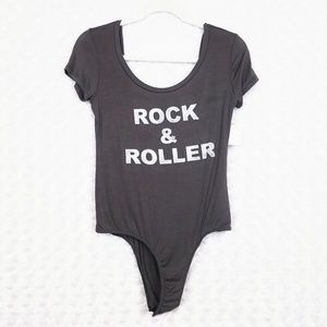 Project Social T Printed Bodysuit